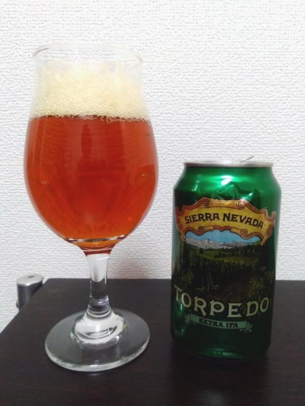 Sierra Nevada Brewing(シエラネバダブルーイング)のTORPEDO EXTRA IPA(トルピード エクストラIPA)