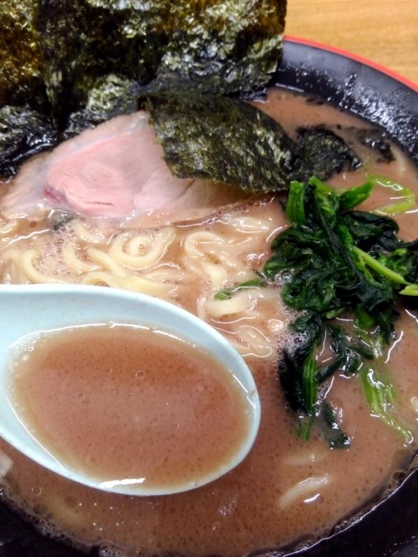 麺屋 紫極さんのスープ