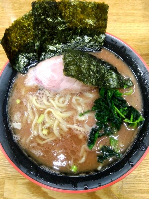 麺家 紫極さんのラーメン 700円