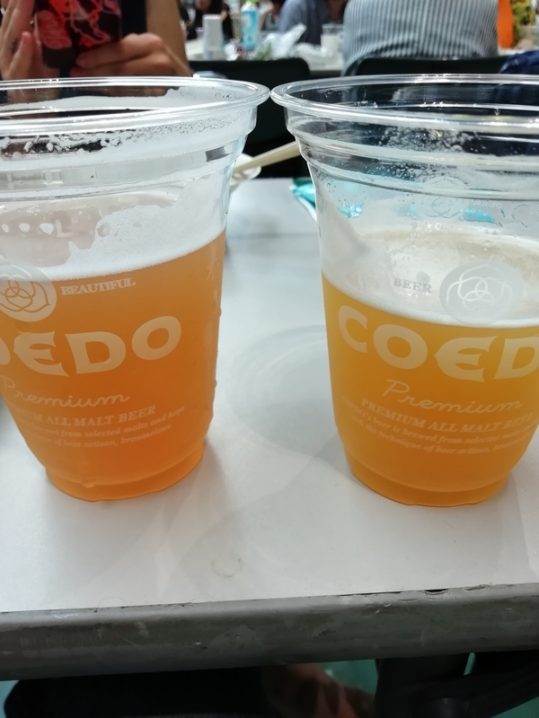 COEDOさんの限定ビール、夏果-Natsuhate-と結-Yui-