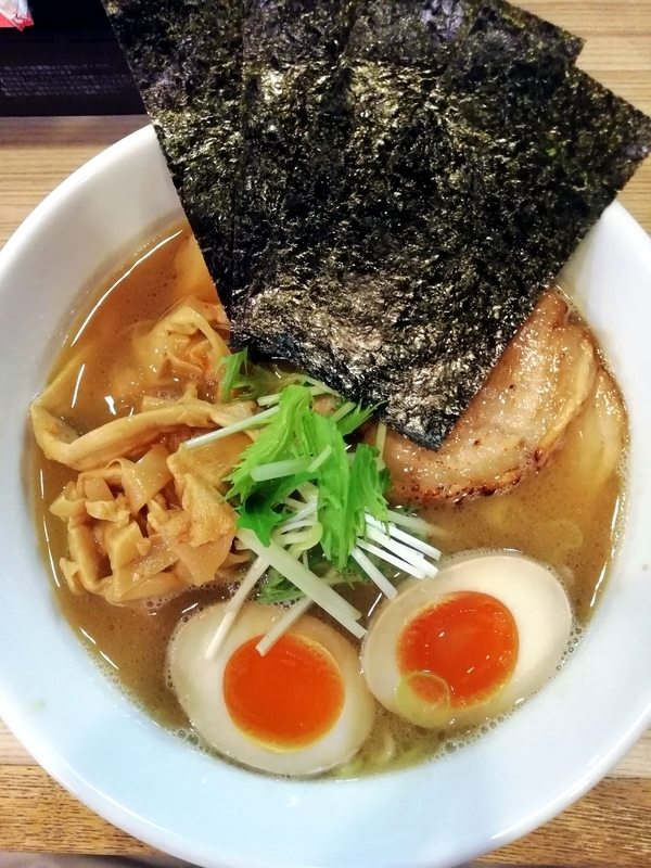 麺やしし丸さんのしし丸らーめん 980円