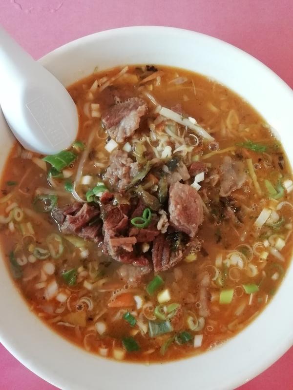 台湾四川料理 東華楼さんの東華麺 840円