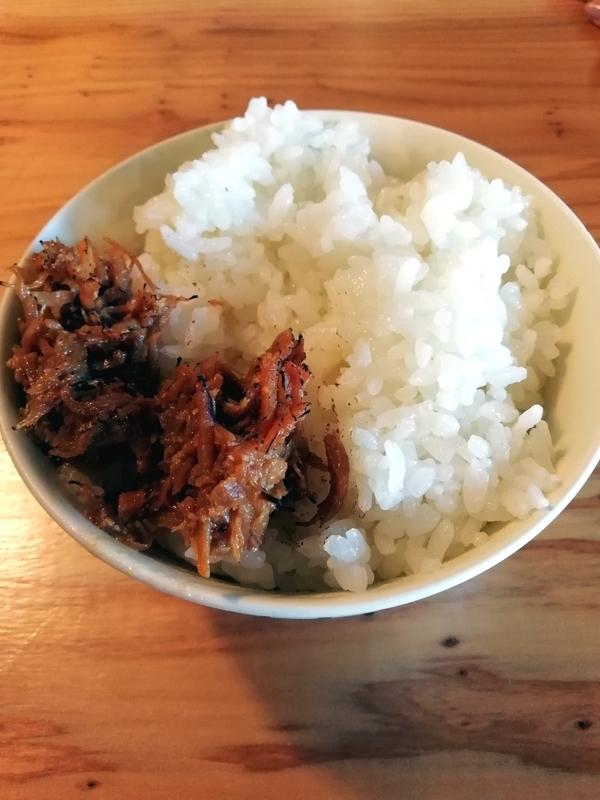 くじら食堂nonowa東小金井店さんの肉みそ付ごはん 100円
