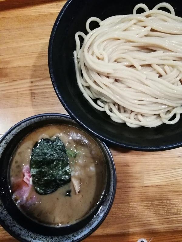 煮干つけ麺(中)850円