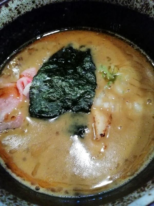 煮干つけ麺のスープ