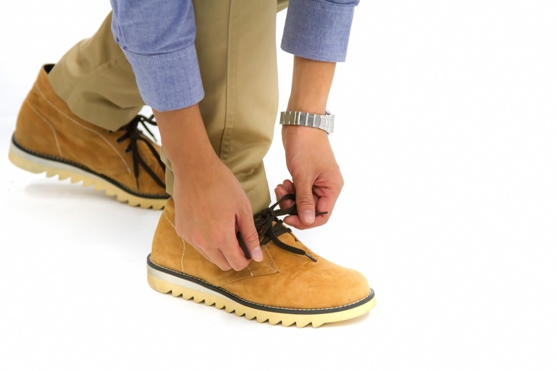 靴ひもの悩み