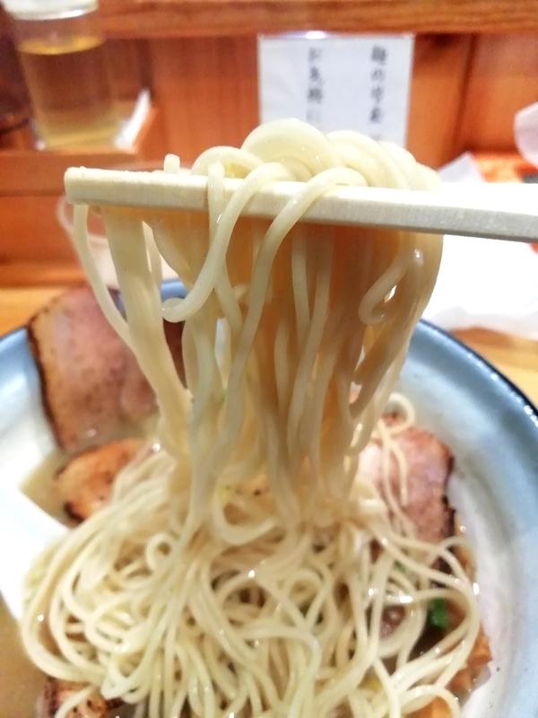 鰤らあめんの麺