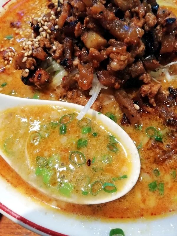 おやじの担々麺のスープ