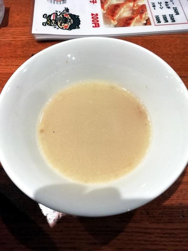よってっ亭さんの割りスープ