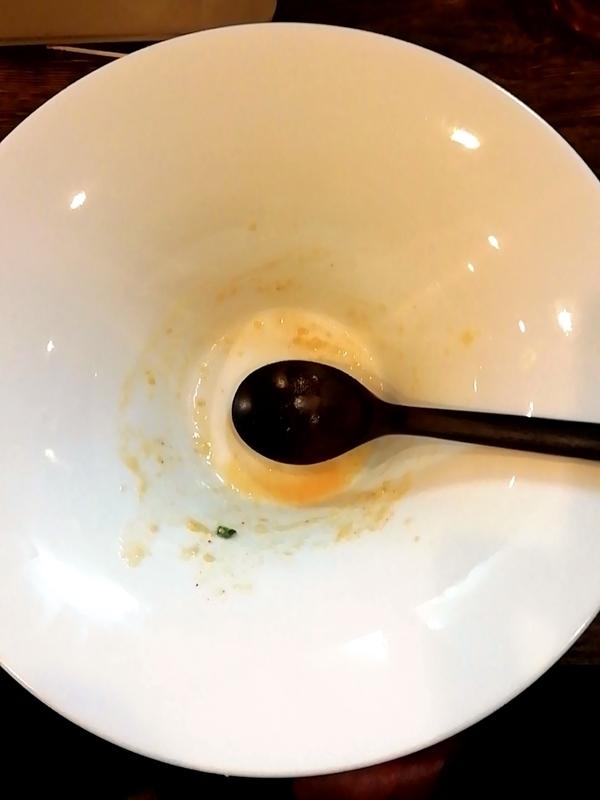 麺屋三四郎さんのおしゃれぞうすいを完食。