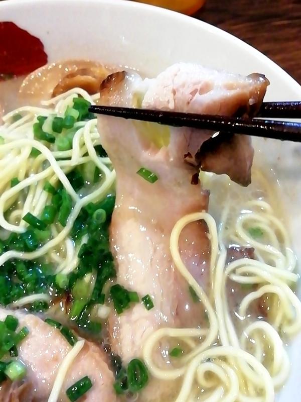 麺屋三四郎さんのチャーシュー