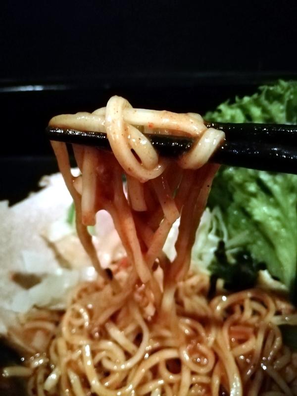 辛口甲斐姫の麺