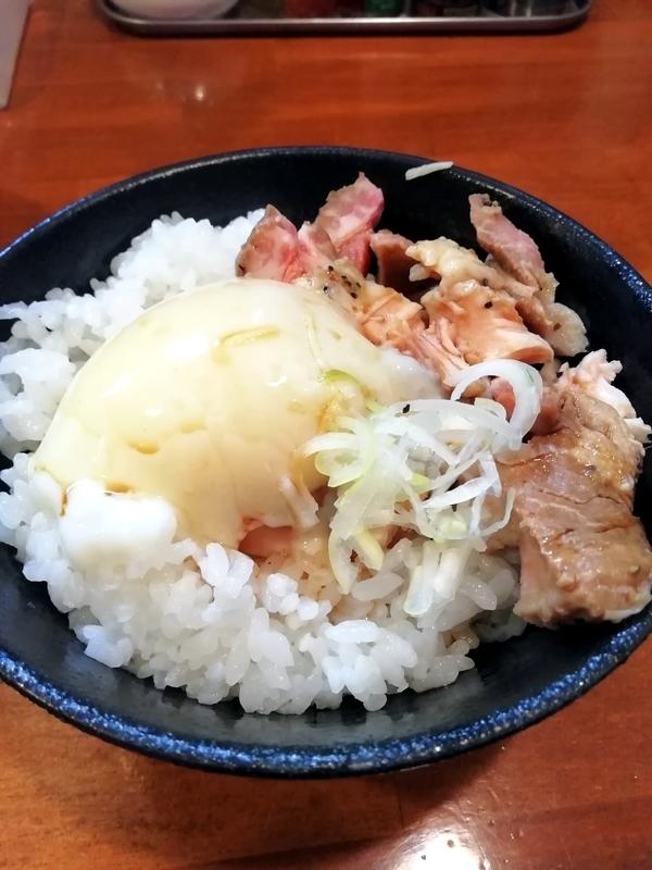 自家製麺 ラーメンKさんのチャーたまごはん 250円