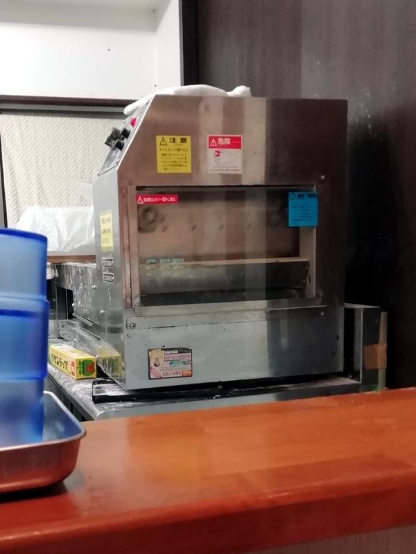 自家製麺 ラーメンKさんの製麺機『さぬき君』
