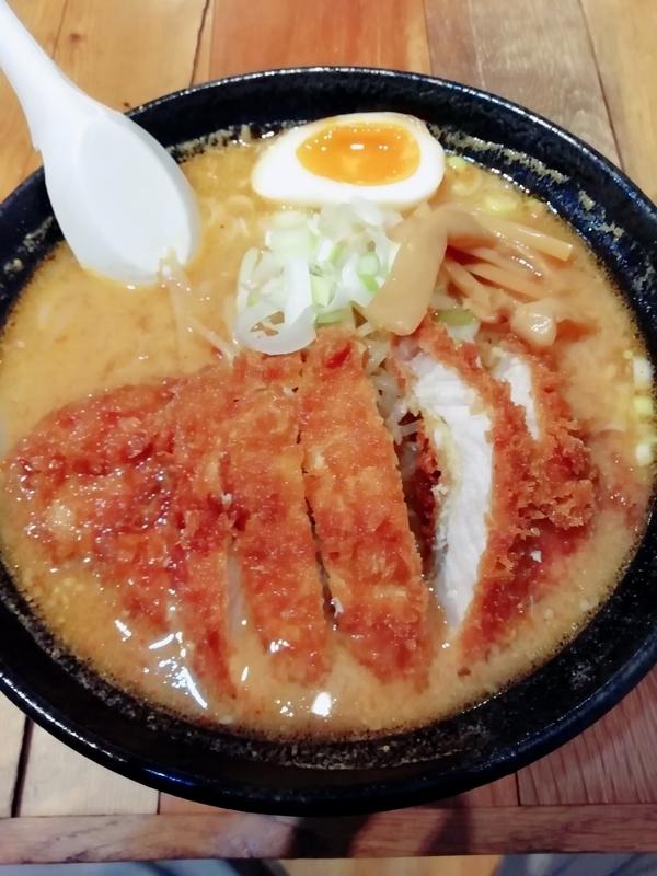 とんかつ熊さんのスタミナ味噌ラーメン 1100円