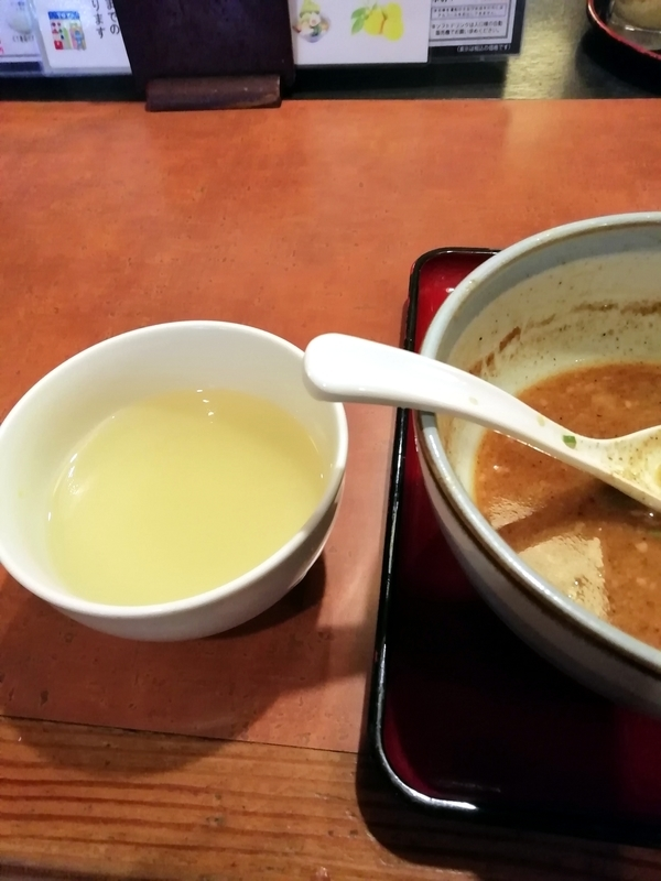 優勝軒総本店さんの割りスープ