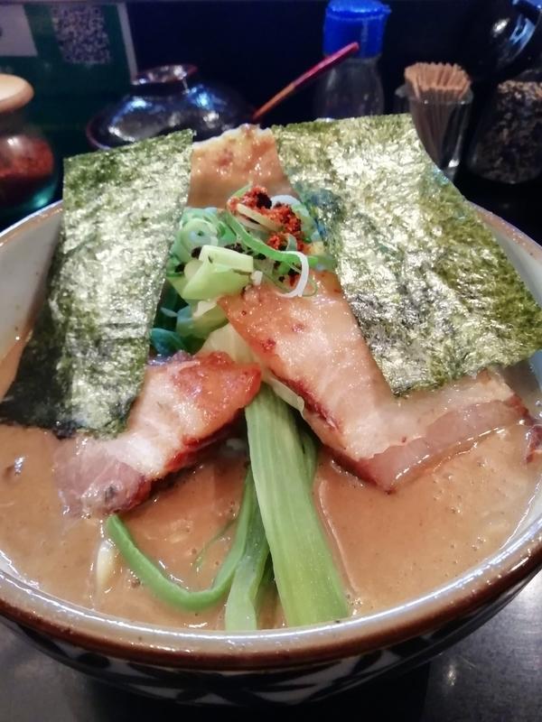 特濃魚介豚骨ラーメン(ハード)の具