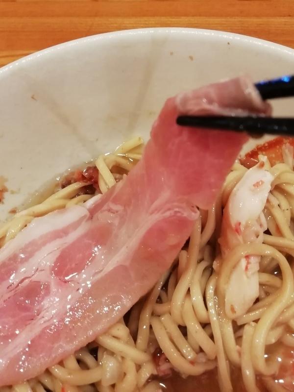麺屋ひな多さんの豚レアチャーシュー