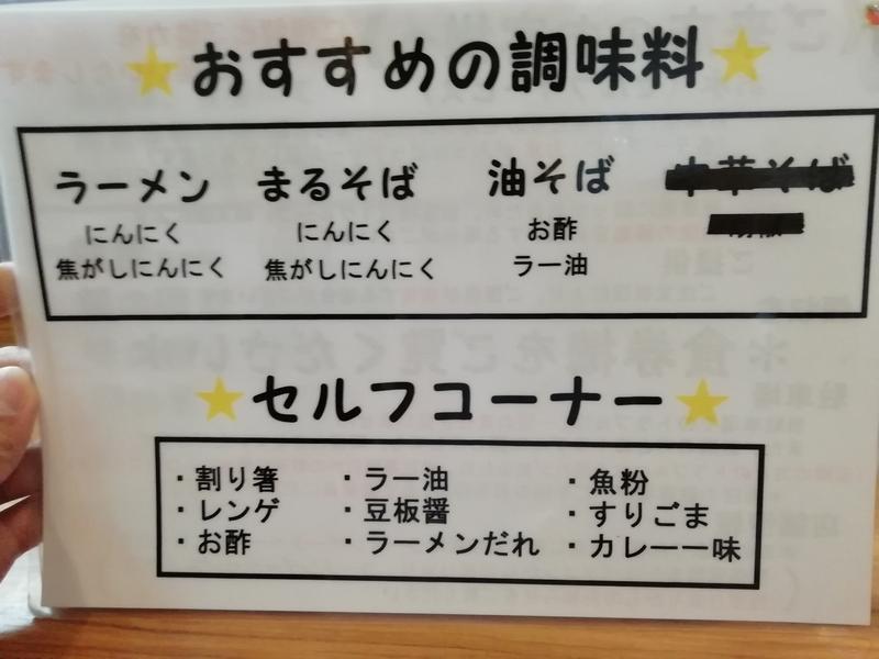 麺家ひまりさんおすすめの調味料の使い方