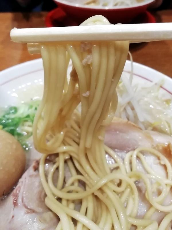 替玉千里眼 志木店さんの自家製麺