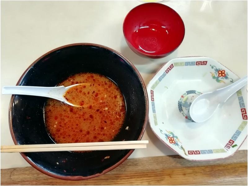 手ごね竹さんの竹辛タンメンとチャーハンを完食。