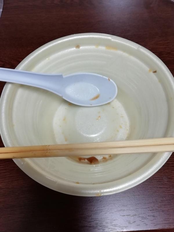 中華蕎麦とみ田 監修 豚ラーメンを完食・完飲。