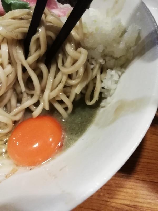 牡蠣味噌と鰯の和えそばのタレ