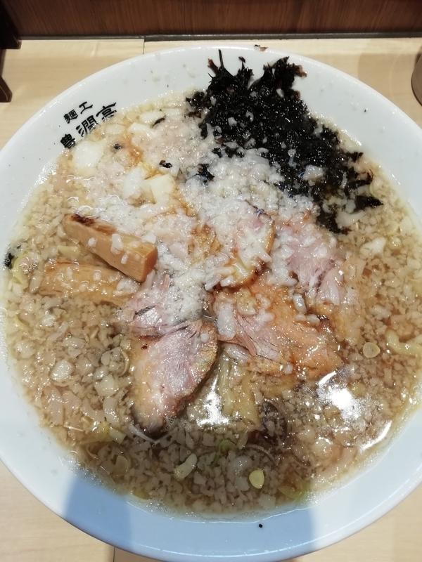 麺工 豊潤亭さんの中華そば(中油)750円