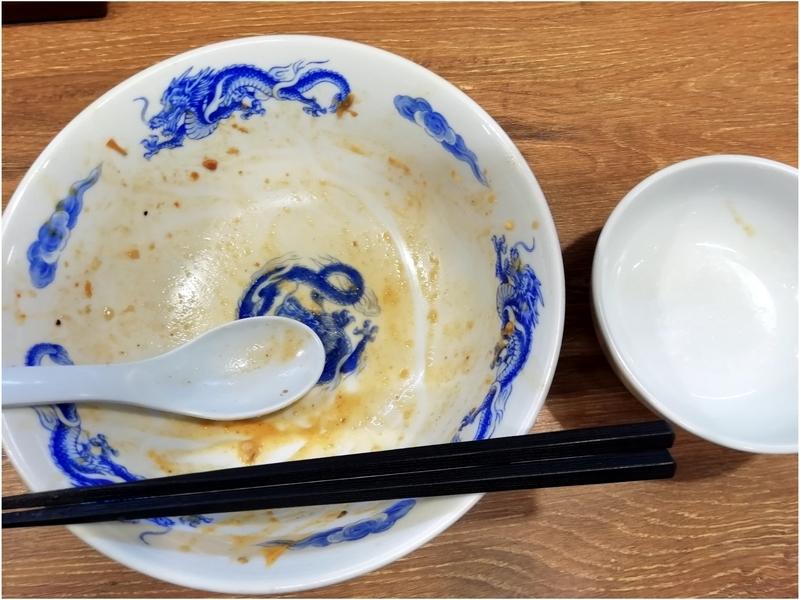 ジャンクガレッジ熊谷店さんのTacoまぜと追い飯を完食。