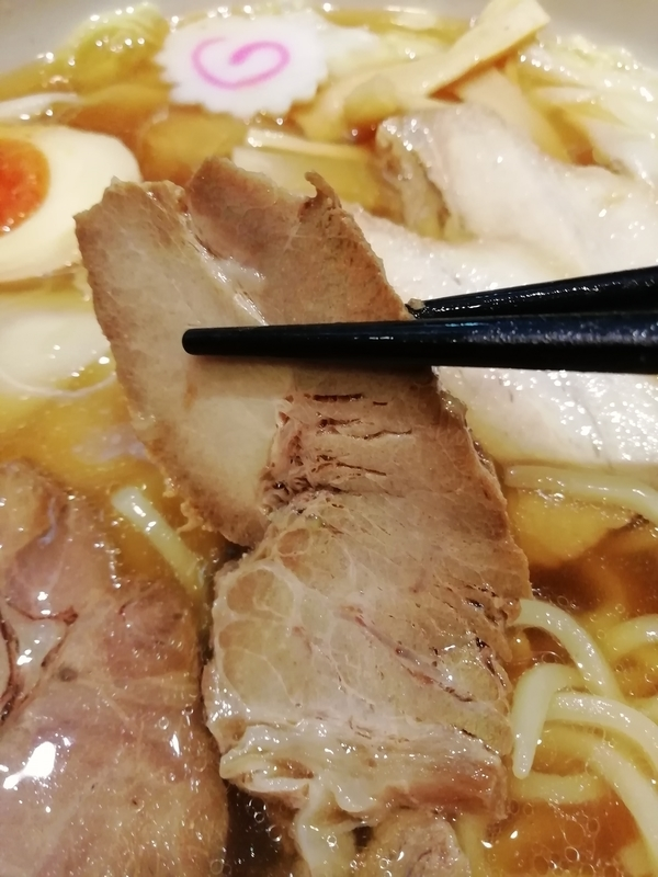 さいたま市浦和区の中華蕎麦 金魚さんのロースチャーシュー