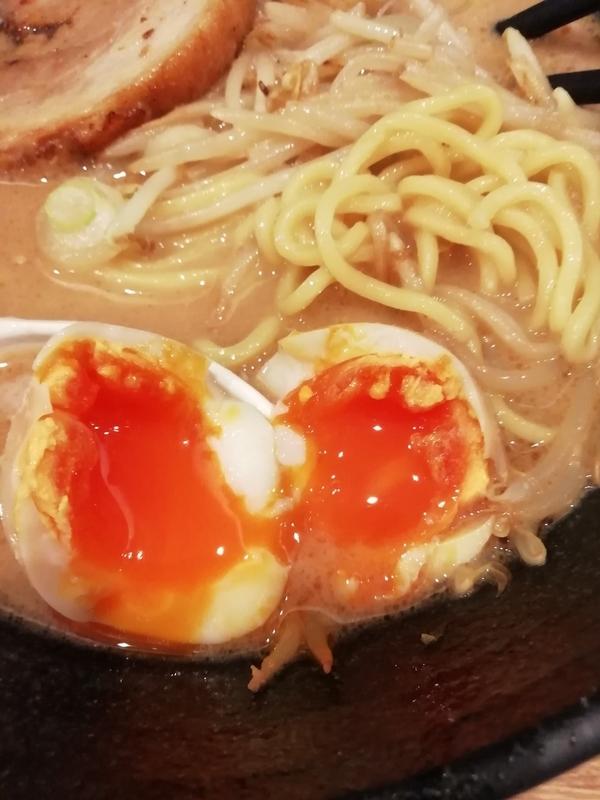 埼玉県大里郡寄居町の麺処 青野さんの味玉