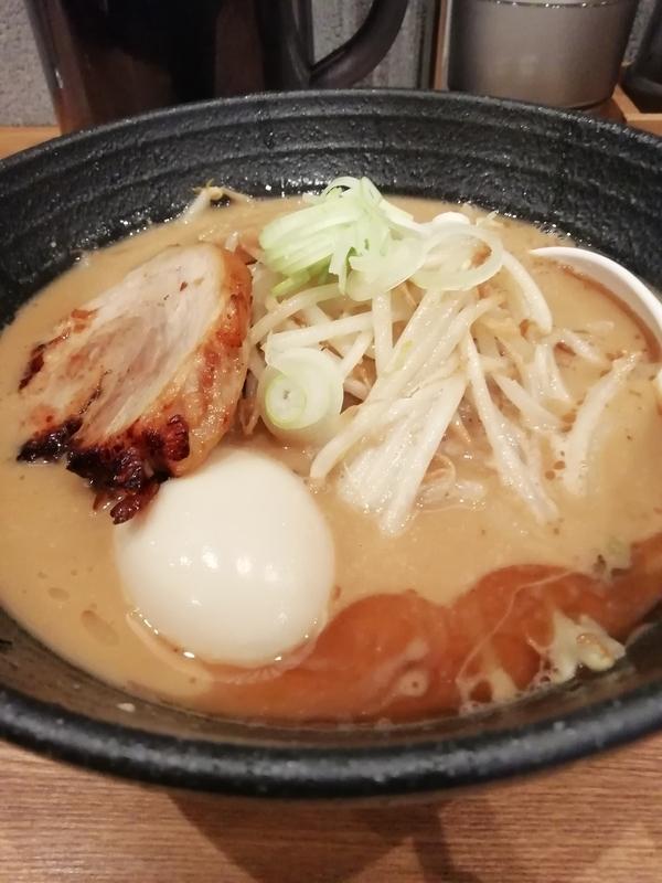 麺処 青野さんの味玉味噌らぁめん 940円