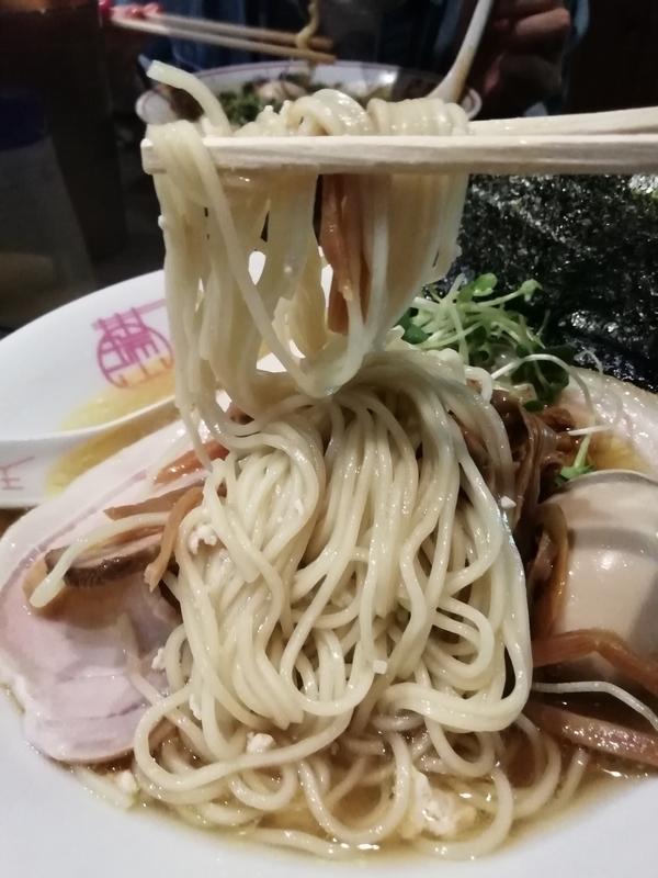 中華蕎麦 瑞山さんの特製しおそばの麺