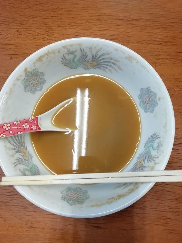 精養軒さんの味噌ラーメンを完食