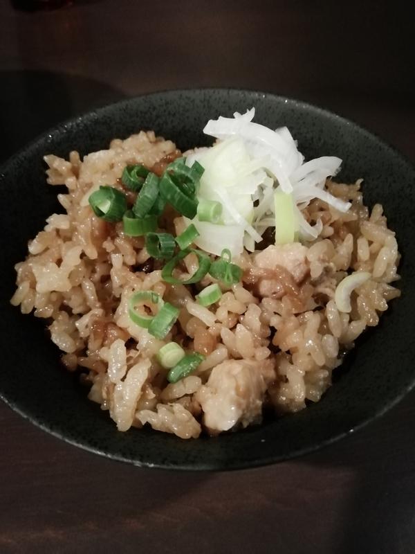 麺屋ORIGAMIさんのまかない飯 150円