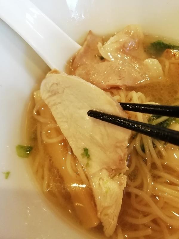 寿製麺よしかわ 坂戸店さんの芳醇真鯛そばの鶏チャーシュー