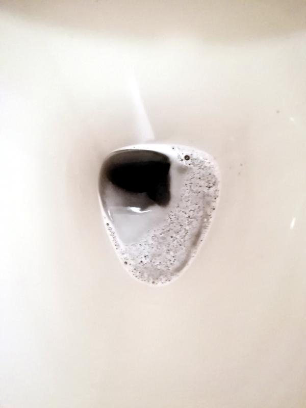 トイレタンク洗浄剤を使用。
