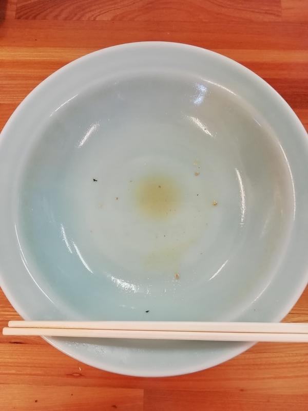 ラーメンショップ深谷川本店さんの冷やしネギラーメンを完食・完飲