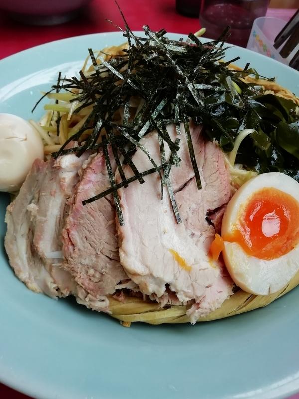 ラーメンショップ金田亭さんの醤油つけ麺のスープ