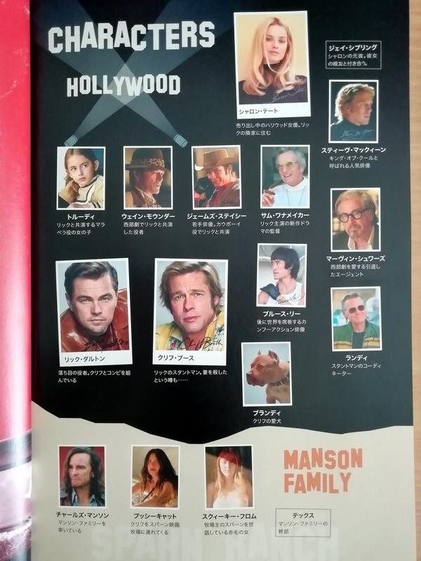 ワンスアポンアタイム イン ハリウッドのキャスト