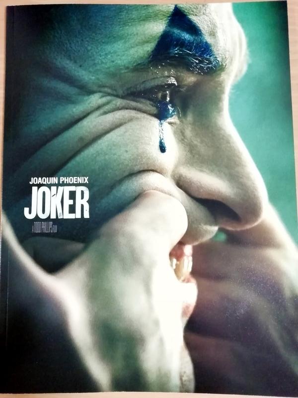 映画『ジョーカー』のパンフレット
