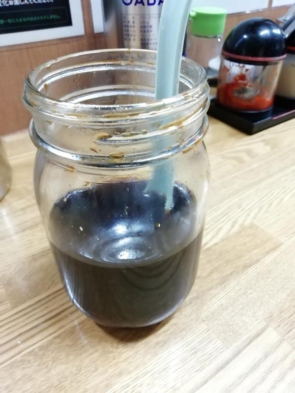 麺家 紫極さんの秘伝のタレ