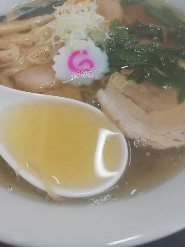 俺の夢さんのチャーシューメンのスープ