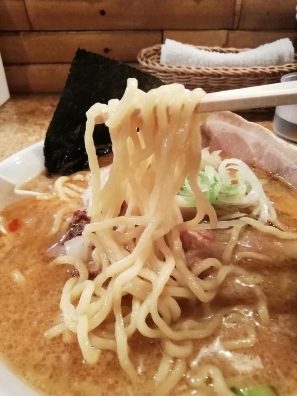 きくちひろきさんのみそら〜めんの麺