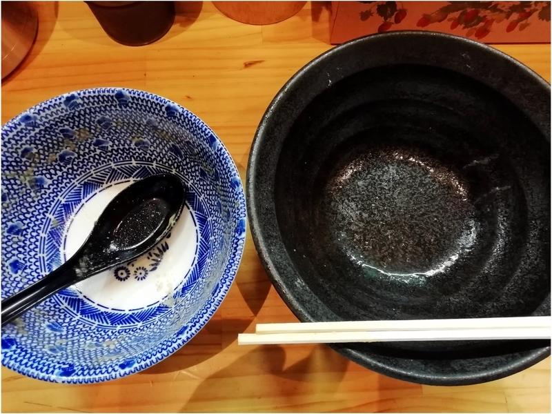 自家製麺TANGOさんのつけ麺を完食・完飲。