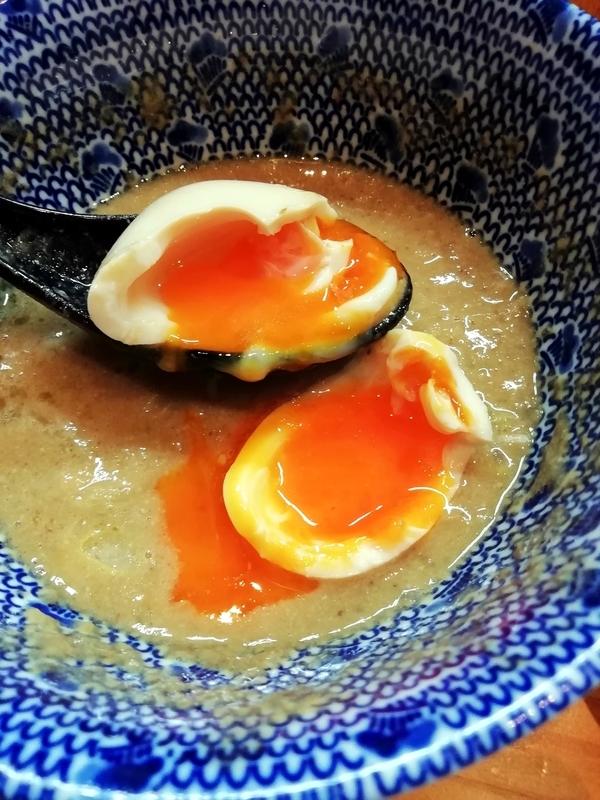 自家製麺TANGOさんの味玉