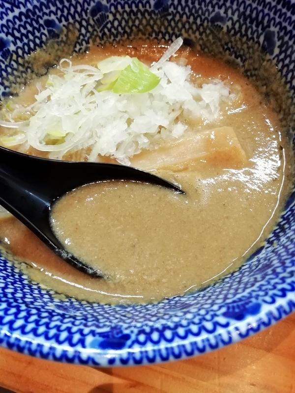 自家製麺TANGOさんのつけ麺のスープ