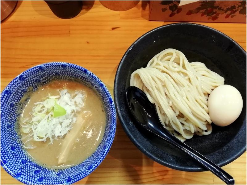 自家製麺TANGOさんのつけ麺(並盛)+味玉 950円