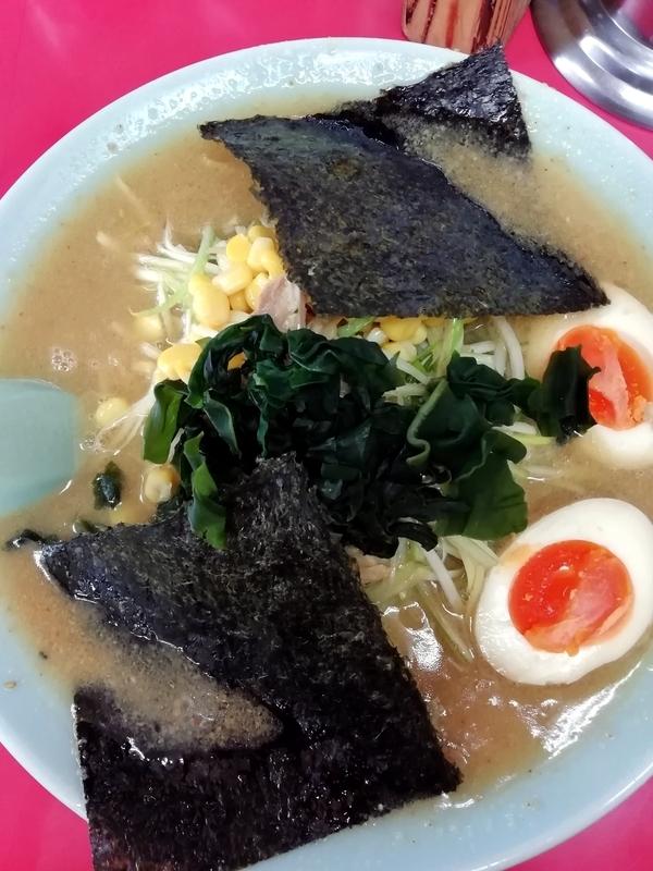 ラーメンショップ正久(羽生インター店)さんのみそチャーシューメン+味玉 900円