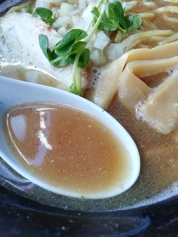 にぼ兄弟さんの濃厚にぼしのスープ